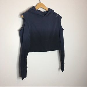 Gymshark long sleeve cropped Womens size small omb